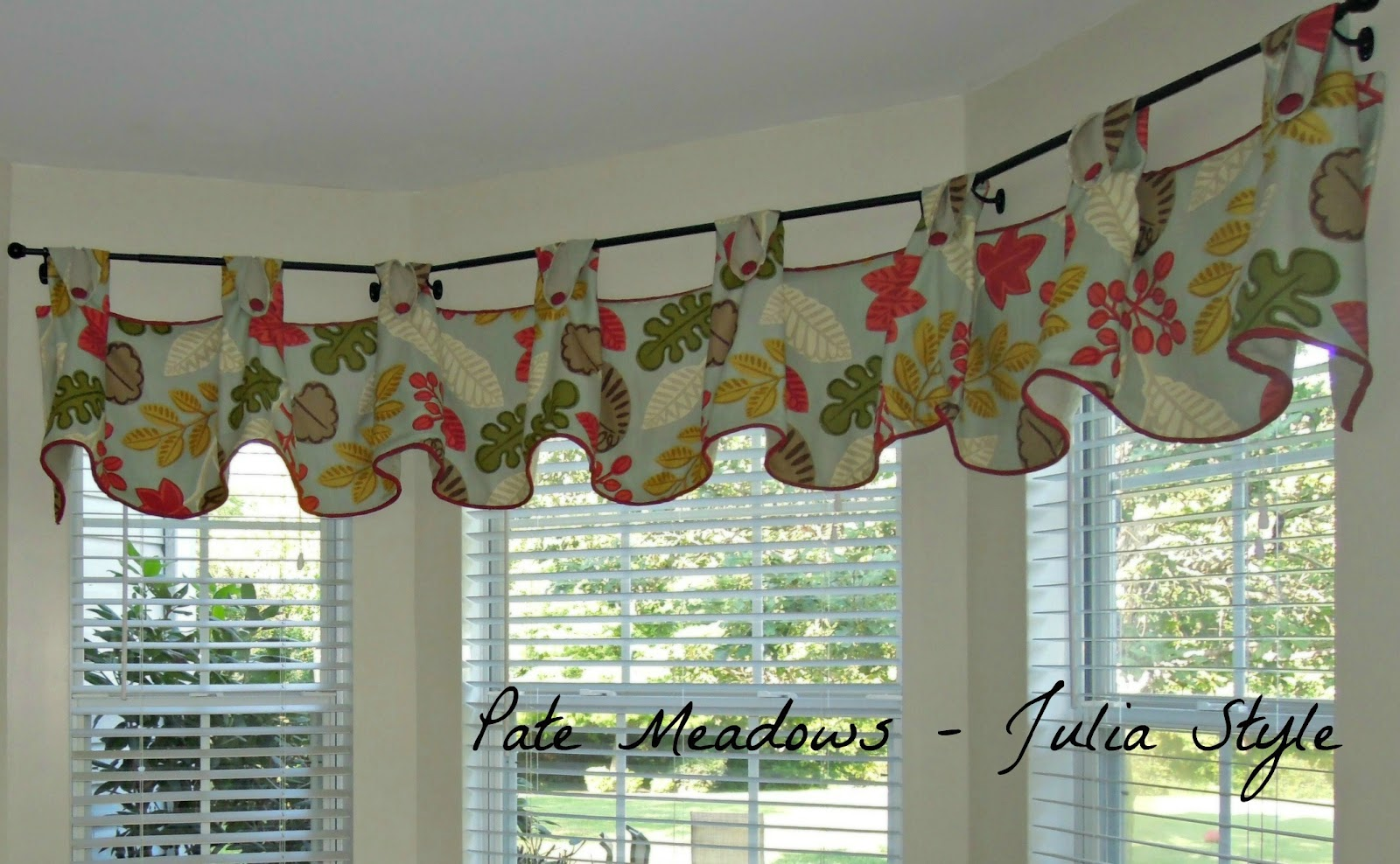 valances for kitchen breakfast bar pate meadows valance julia style