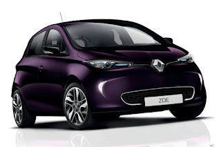 Renault Zoe (2018) Front Side