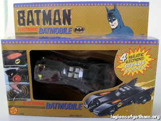Toy Biz Electronic Batmobile