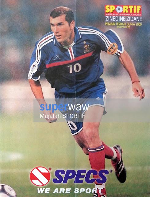 Zinedine Zidane Prancis