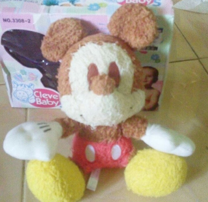 Boneka Mickey Mouse Mini Rasfur - tresna boneka be1f995985