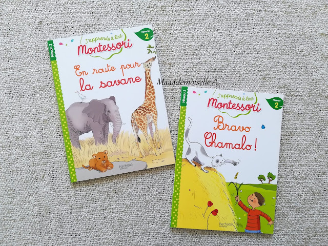 J'apprends à lire Montessori, En route pour la savane et Bravo Chamalo !