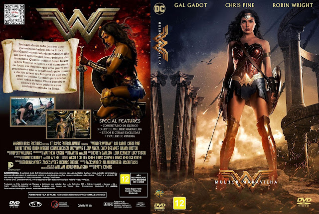 Capa DVD Mulher Maravilha [Custom]