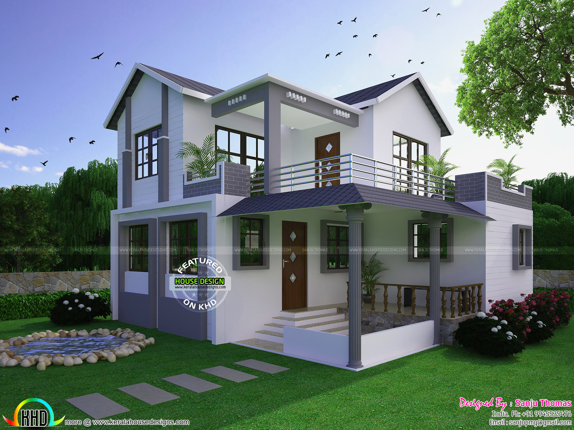 Square feet details ground floor 890 sq ft first floor 630 sq ft total area 1600 sq ft no of bedrooms 3 design style modern