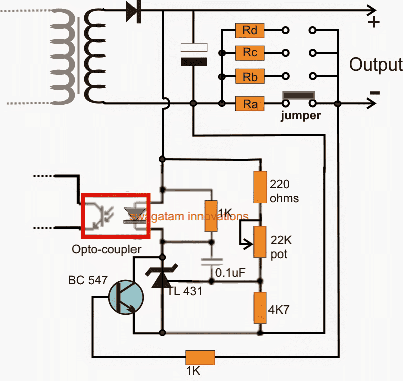 How to Modify SMPS for Adjustable Current and Voltage Output