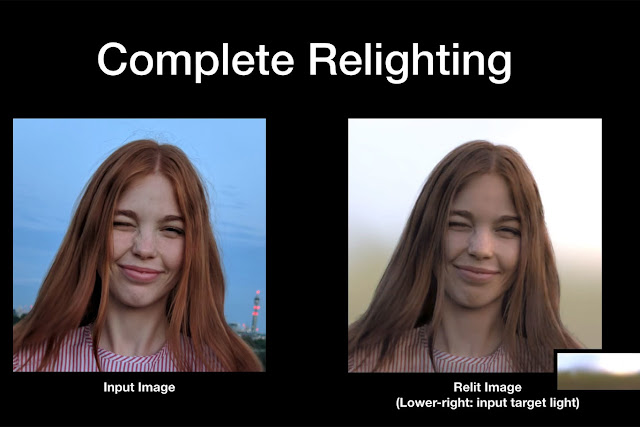 How Artificial intelligence can re-illuminate any portrait without the need for a depth map.