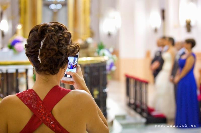 la hermana de la novia tocado peinado