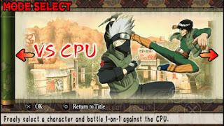 Game Naruto Ultimate Ninja Heroes ISO PPSSPP