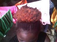 Ashley cheveux défaits