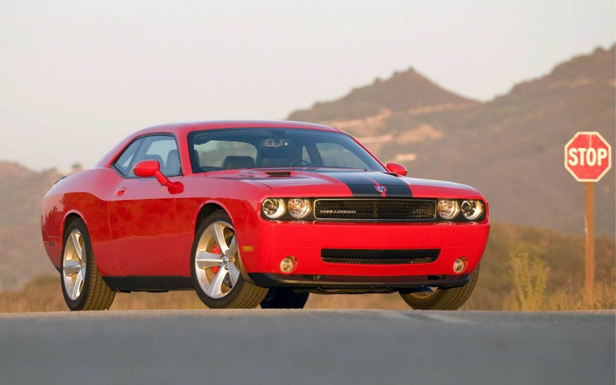 Dodge Challenger Widescreen HD Wallpaper 10