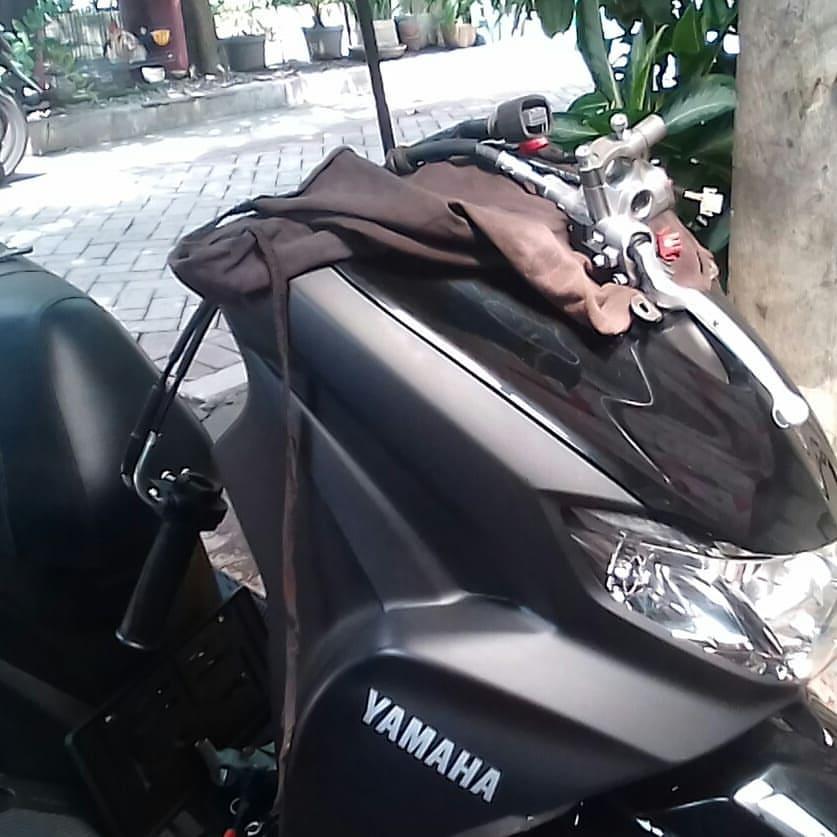 Modifikasi Yamaha Freego, pakai setang Yamaha Lexy