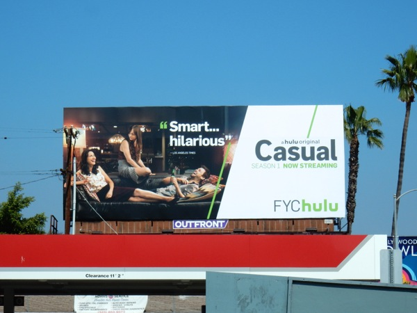 Casual 2016 Emmy Hulu FYC billboard