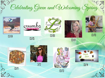 Celebrating Green and Welcoming Spring | www/BakingInATornado.com