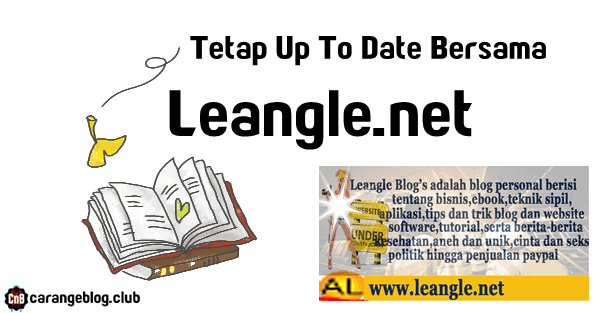 Tetap Up To Date Bersama Leangle.net