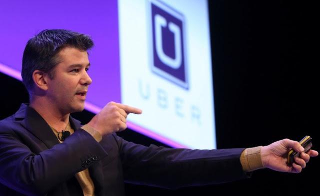 Fundador Uber presenta renuncia