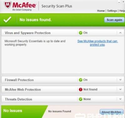 McAfee Antivirus Terbaik