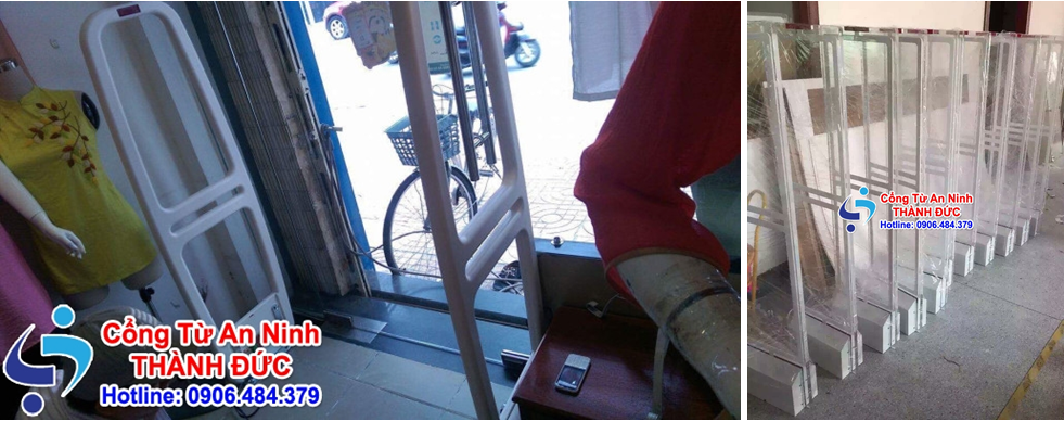 Hình ảnh thực tế Cổng từ an ninh AM005D