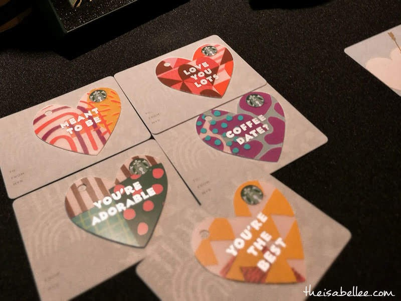 Heart Shaped Starbucks Card