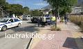 Λουτράκι: Εικόνες από το τροχαίο στον κόμβο της ΗΒΗ (φωτο)