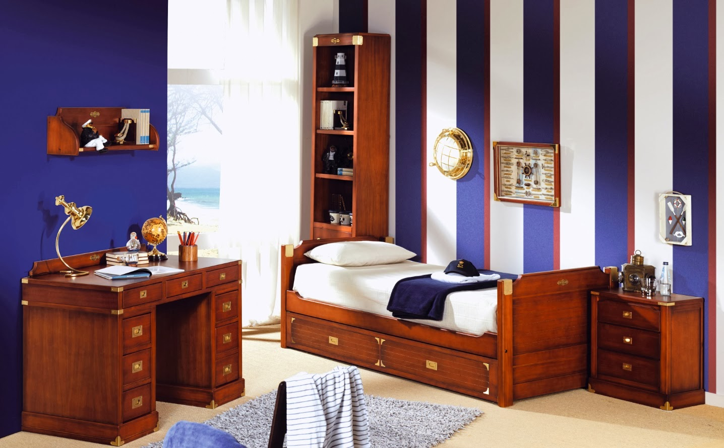 Blog de mbar muebles dormitorios estilo barco for Decoracion dormitorios clasicos