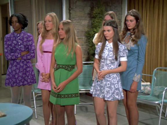 Marcia brady mini skirt