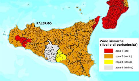 mappa sismica Sicilia La scorribanda legale