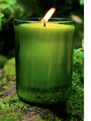 Resultado de imagem para vela verde de 7 dias encendida