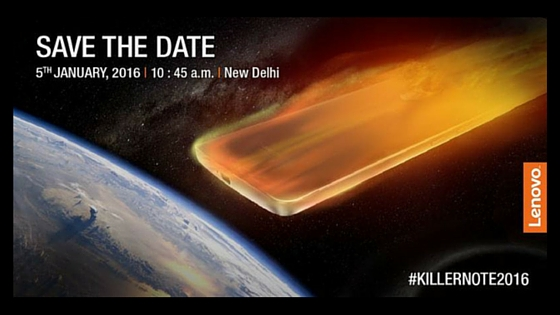 Lenovo K4 Note to launch on January 5th