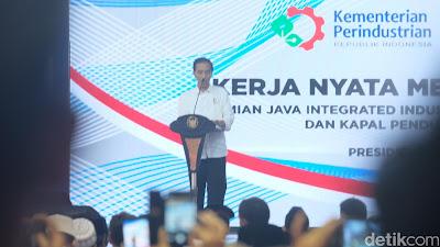 Presiden Jokowi Resmikan Kawasan Industri Terintegrasi di Gresik - Info Presiden Jokowi Dan Pemerintah