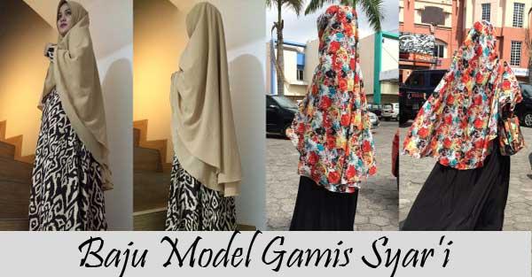 Baju Model Gamis Syar'i