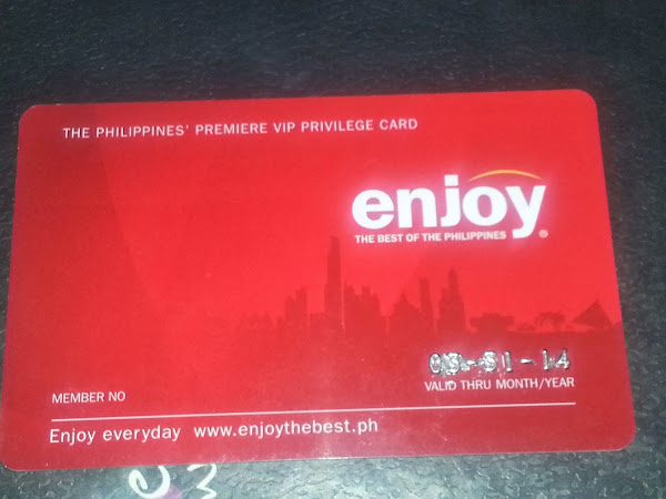 The Must Have Red Card: Enjoy Philippines
