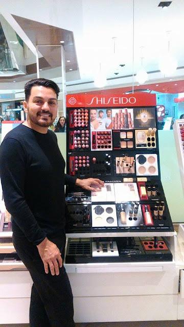 Maquiador de Registro-SP apresenta novidades na Laffayette Perfumaria em Curitiba