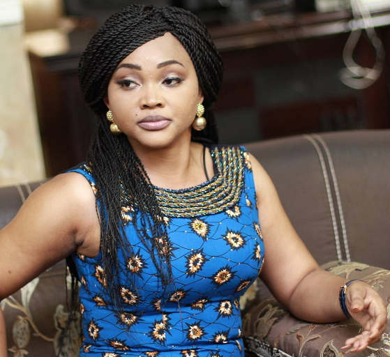 mercy aigbe bad english