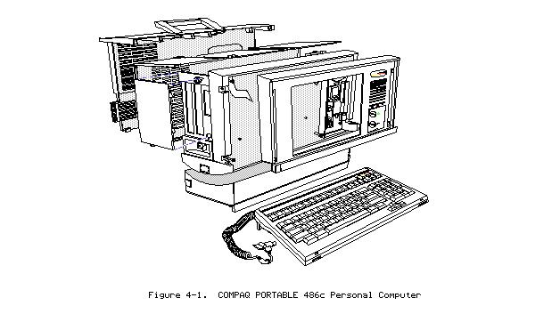 Bogdan Tîrziu: The Compaq Portable 486C