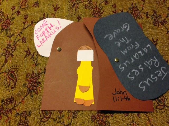 Children 39 s bible lessons lesson jesus raises lazarus for Jesus brings lazarus back to life coloring page