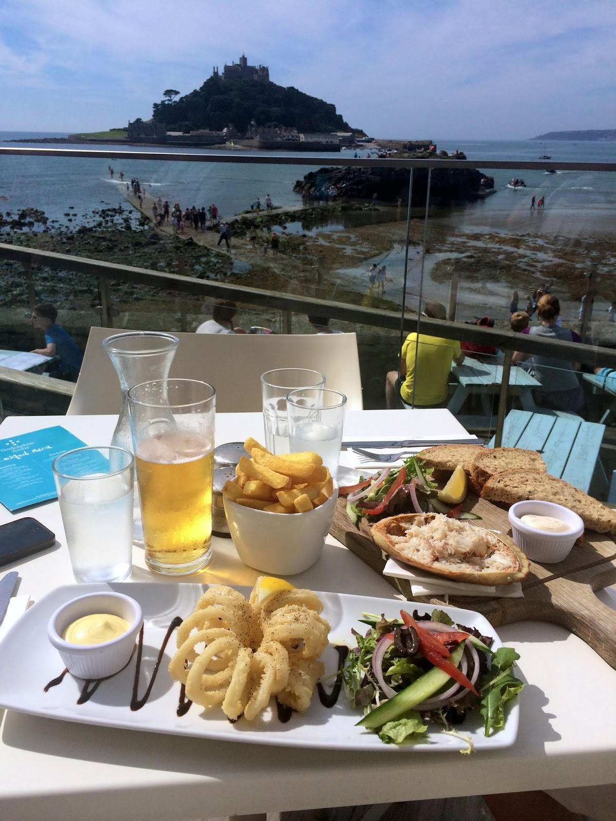 Godolphin Arms Marazion, places to eat in Marazion, food bloggers UK, travel bloggers