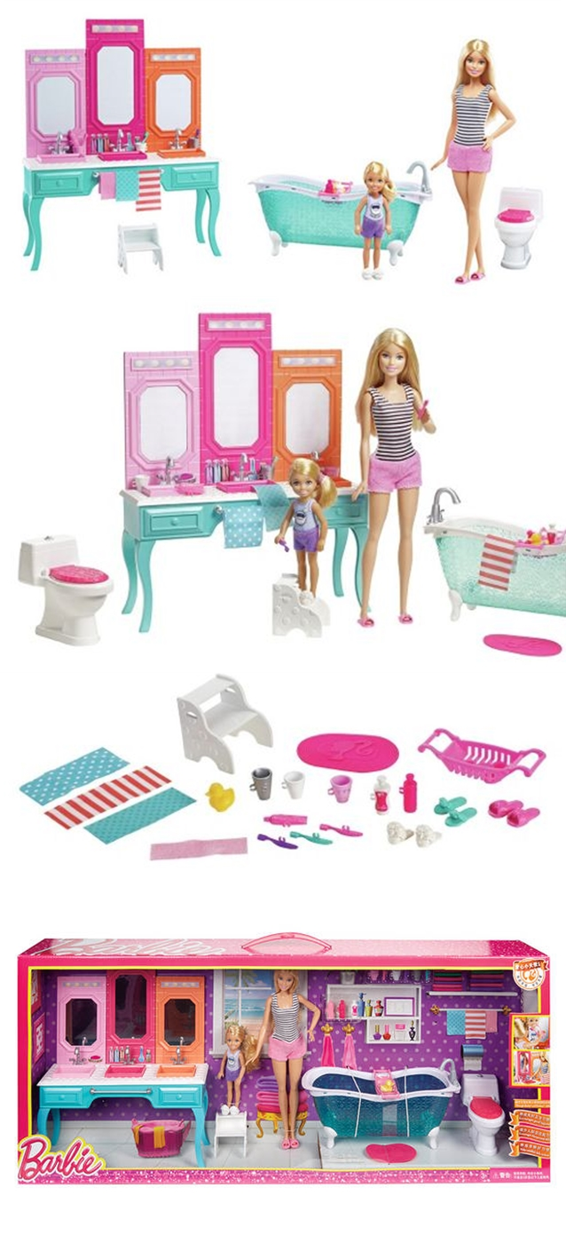 Barbie Made To Move Camping Holiday Olivia Amp Bath 2016