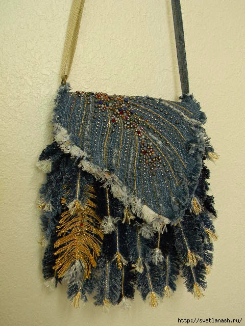 how to make use of old jeans