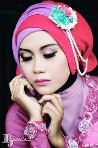 Gambar Model Hijab Kebaya Acara Pesta