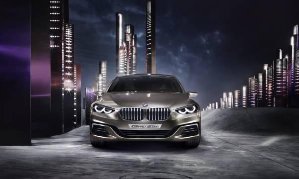 P90204812 lowRes BMW Concept Compact sedan ή μήπως σειρά 1 sedan;