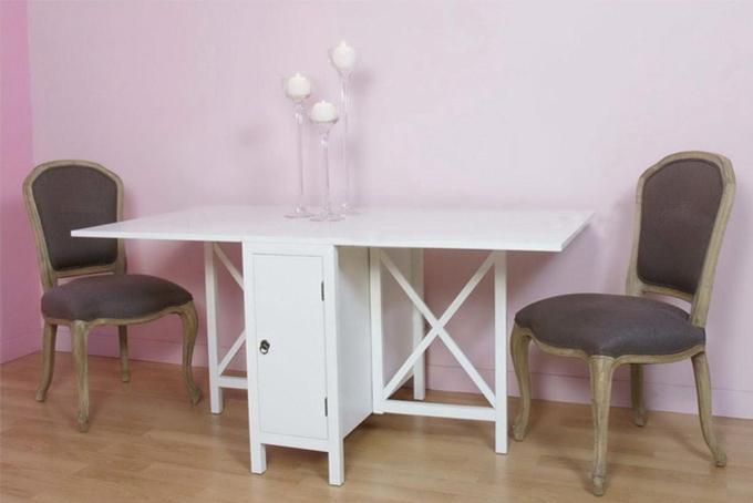 Mesas de comedor para poco espacio casa dise o - Mesas libro de comedor ...