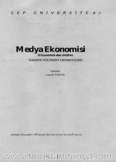 Nadine Toussint Desmoulins - Medya Ekonomisi  (Cep Üniversitesi Dizisi - 107)