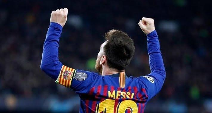 Incredibile e perfetto gol di punizione di Leo Messi in Barcellona-Liverpool 3-0.