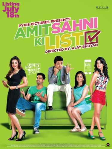 Amit Sahni Ki List (2014) Movie Poster