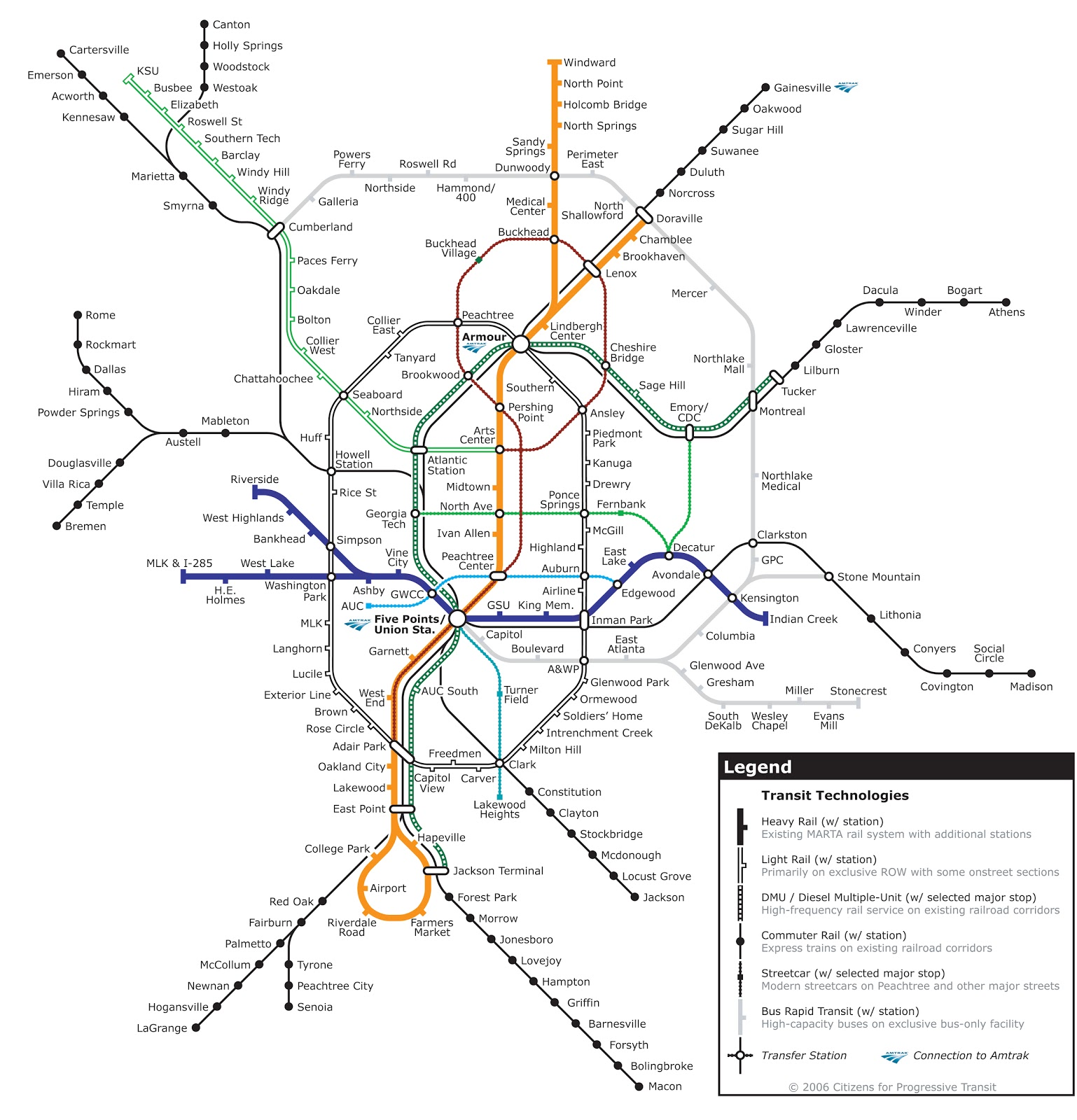 MARTA Reimagined : Atlanta