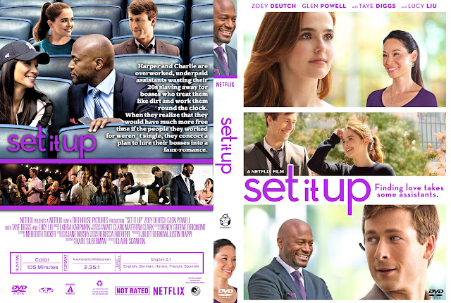 Set It Up DVD Cover