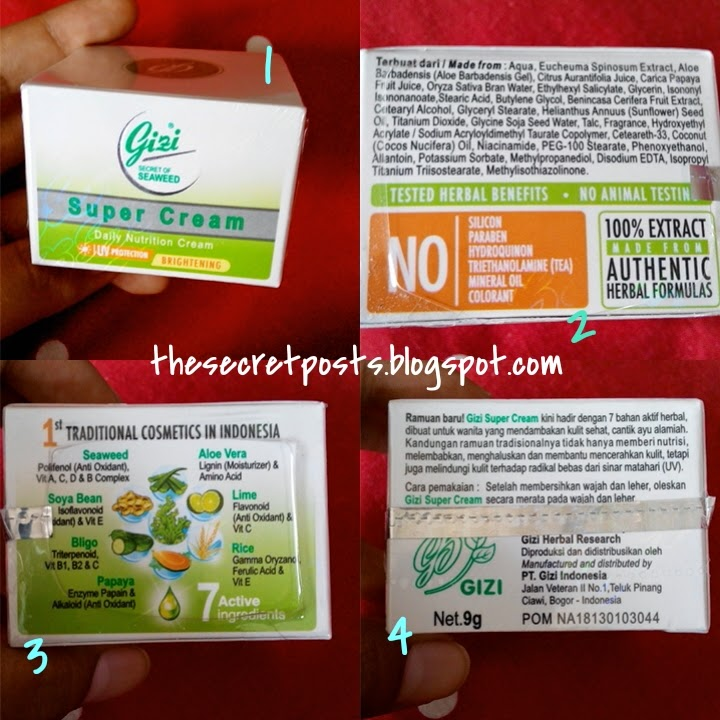 Review: Gizi Super Cream