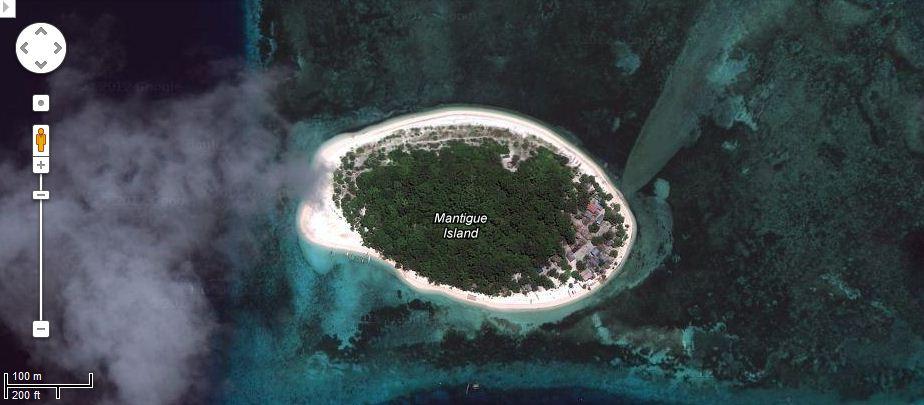 Mantigue Island Map