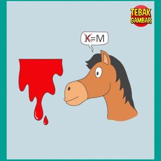 Tebak Gambar Darah dan Kepala Kuda
