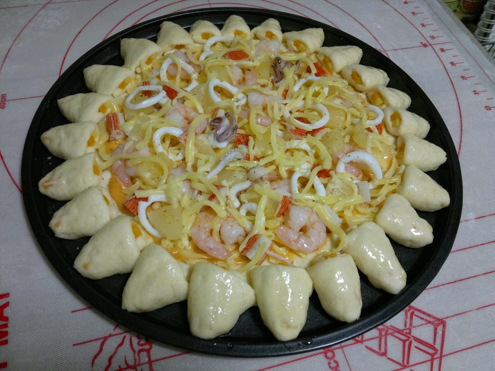 美味食譜-由玲開始: 千島海鮮扭扭批